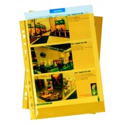 """Zakládací obal závěsný A4 """"U"""", PH101, PP hladký, žlutý"""