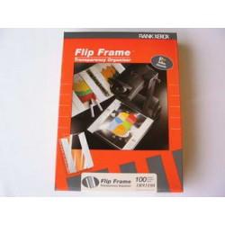 Závěsné desky A4, FLIP FRAME, hladké s klopou, 3R93180