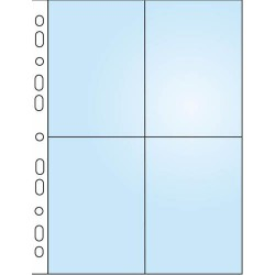 Závěsné desky A4 na 8 fotografií 9x13, 2111/čiré, 10 ks