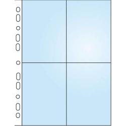 Závěsné desky A4 na 8 fotografií 10x15, 2112/čiré, 10 ks