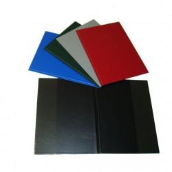 Desky 230x320 mm s průhlednými záložkami, 5-412, černé