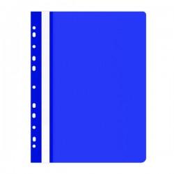 Rychlovazač A4 s eurozávěsem, PVC, modrý