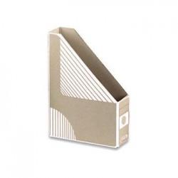 Pořadač stolní A4, skládaný karton EMBA, bílý