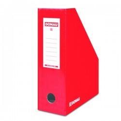 Pořadač stolní, skl. karton DONAU 7648101-04, červený
