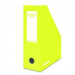 Pořadač stolní, skl. karton DONAU 7648001-11, žlutý