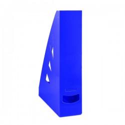Pořadač stolní, modrý plastový Office