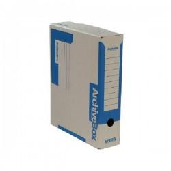 Archivní krabice EMBA 330x260x75 mm modrá