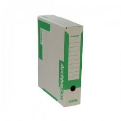 Archivní krabice EMBA 330x260x75 mm zelená