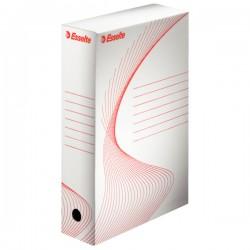 Archivní krabice A4 kartonová bílá, šíře 8cm, ES128080