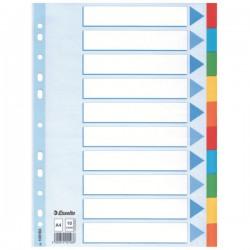 Rozdružovač A4 2x5 barev, kartonový, ESS100193