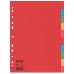 Rozdružovač A4 2x5 barev, kartonový, Economy, ESS100201