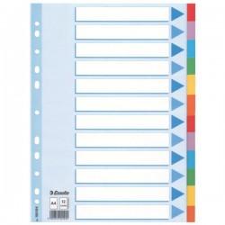 Rozdružovač A4 2x6 barev, kartonový, ESS100194