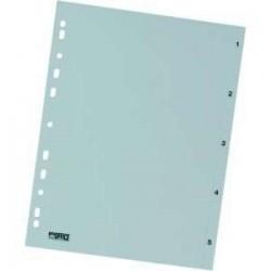 Rozdružovač A4 1-5, bílý, plastový, ROZ 1-5