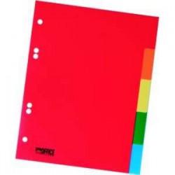 Rozdružovač A5 1x5 barev, plastový