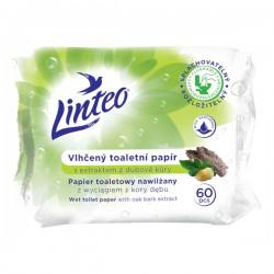 Vlhčený toaletní papír Linteo 60ks