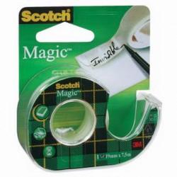 Lepící páska POP 19mm x 7,5m, SCOTCH MagicTape, neviditel
