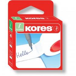 Průhledná lepící páska POP 19mm x 33m, KORES INVISIBLE