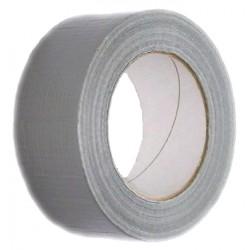 Páska 50mm x 50m, vyztužená vlákny, stříbrná Ducktape