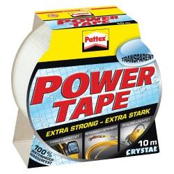 Páska 50mm x 10m, Pattex Power tape, transparentní