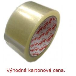 Lepící páska POP 50mm x 66m, transp., karton 36 rolí, ACRYL