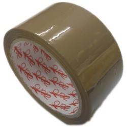 Lepící páska POP 50mm x 66m, hnědá, ACRYL