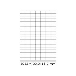 Etikety 30,0x15,0mm, 133 etiket x 100 archů, R01003032
