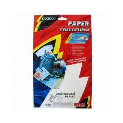 Fotopapír na textil, A4,nažehlovací, na tmavá trička, 5 ks