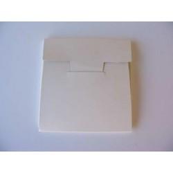 Skládačka na posílání CD nebo disket, bílá