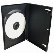 Box na 1 ks DVD, černý
