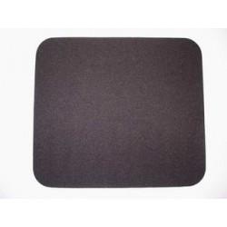 Podložka pod myš 24x22 cm, měkká, černá