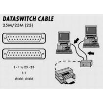 Kabel propojovací k dataswitch 25M-25M-25pin, 5m