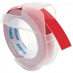 Páska pro DYMO kleště, 9 mm x 3 m, červená
