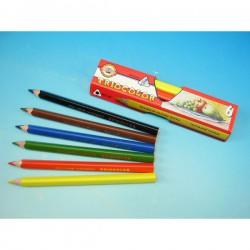 Pastelky 3151/6 barev, trojhranné silné Jumbo