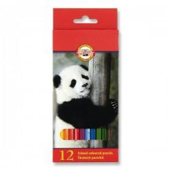 Pastelky 3552/12 barev, šestihranné