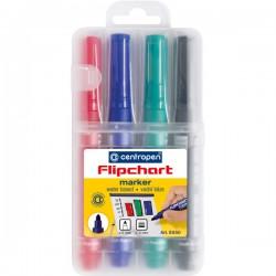 Popisovač 8550/4 na flipchart, sada