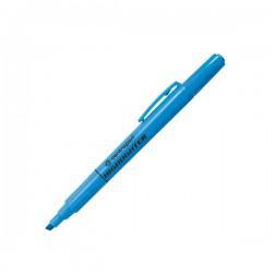 Zvýrazňovač 8722 permanent, šikmý hrot, modrý