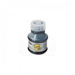 Razítková barva bez oleje, 50g v PH lahvičce, černá