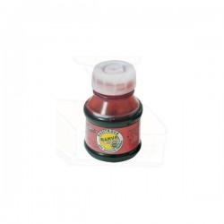 Razítková barva bez oleje, 50g v PH lahvičce, červená
