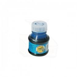 Razítková barva bez oleje, 50g v PH lahvičce, modrá