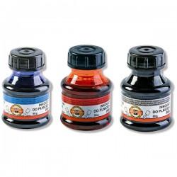 Inkoust BRILIANT, 50g v lahvičce, černý