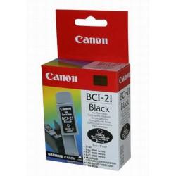 Cartridge Canon BCI-21 Bk, černý ink., ORIGINÁL