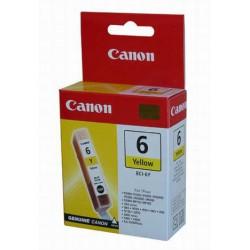 Cartridge Canon č.6Y, BCI-6 Y, žlutý ink.,ORIGINÁL