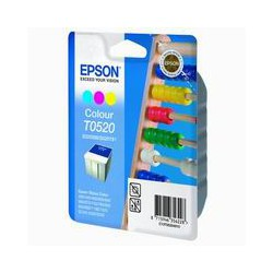 Cartridge Epson T052040, tri-color ink., ORIGINÁL