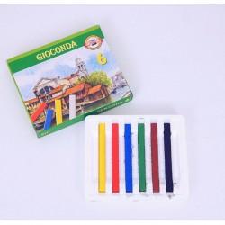Křídy mastné 8111, sada 6 barev, olej