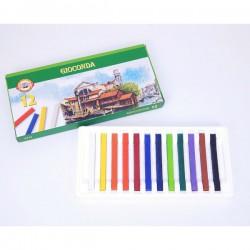 Křídy mastné 8112, sada 12 barev, olej