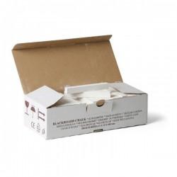 Křída školní bílá v krabici 100 ks