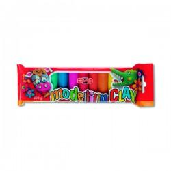 Plastelína 200 g, 10 barev