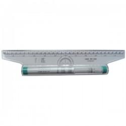 Pravítko 30 cm, valivé Linex RR1000