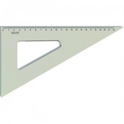 Trojúhelník 60/250 mm, čirý
