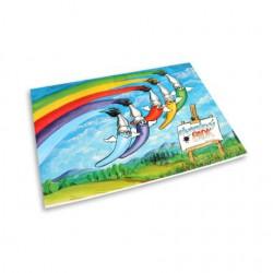 Akvarelový blok A4/10 listů